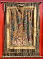 Antique Oriental Silk Thankga Mandala Tibet Scroll
